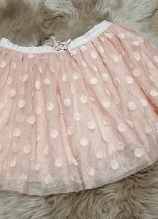 Фатиновая пышная юбочка mini b на 5-7 лет