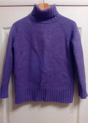 Теплый свитер. 50% шерсть