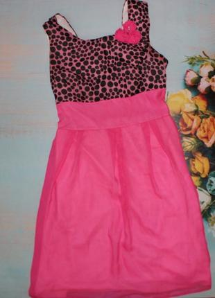Легкое платье  размер 42
