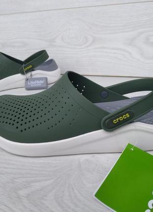Literide  кроксы зелёные