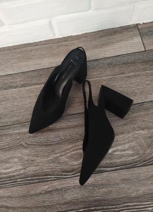 Стильные мюли туфли лодочки босоножки