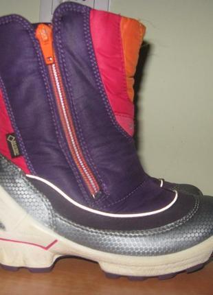 Зимние ботинки  ecco gore tex р.27