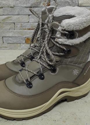 Женские зимние ботинки lowa gore-tex