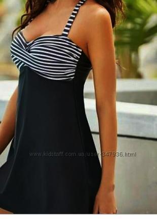 Купальник платье брендовый -m,l.