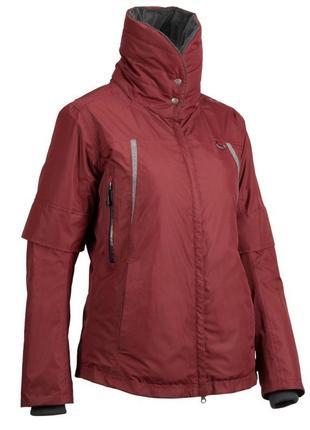 Теплая водонепроницаемая женская куртка для верховой езды tosca 2 fouganza