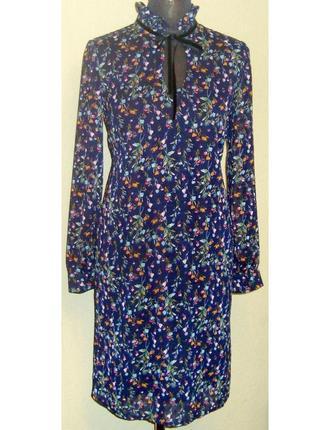 Стильное , эффектное , шифоновое платье , rissha , беларусь р . 42 - 44