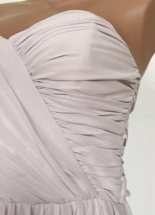 Нарядное шифоновое вечернее платье на подкладе размер m