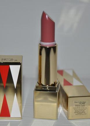 Насыщенная стойкая моделирующая помада estee lauder pure color envy sculpting lipstick
