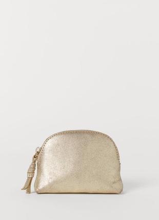 Кожаная косметичка, сумка