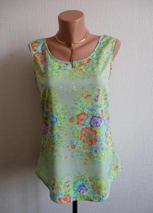 Нежная блуза в цветочный принт qed london