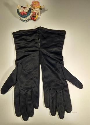 Утепленнные удлиненные перчатки размер 6,5