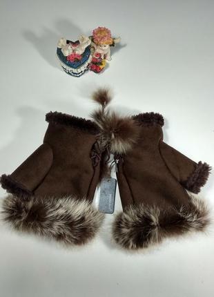Теплые перчатки размер m