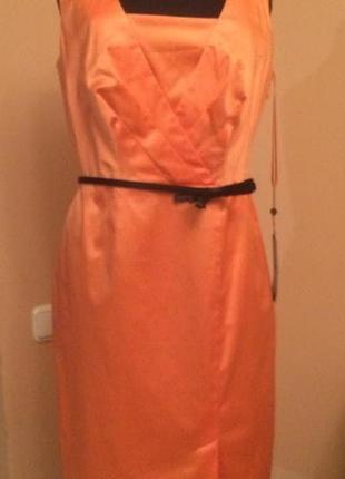 Платье st oliver, натуральный состав, s-m, средняя длина, вечернее