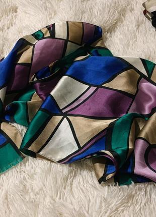 Шелковый шарфик, шарф из шёлка