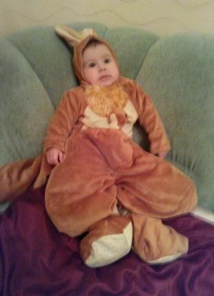 Карнавальный костюм кенгуру на 12-18м