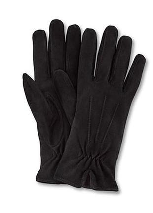 Женские перчатки из натуральной замши от тсм tchibo ( германия)