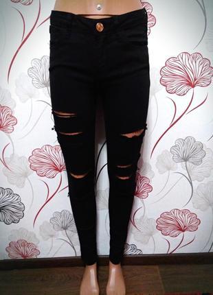 Классные новые, фирсенные,джинсы скини