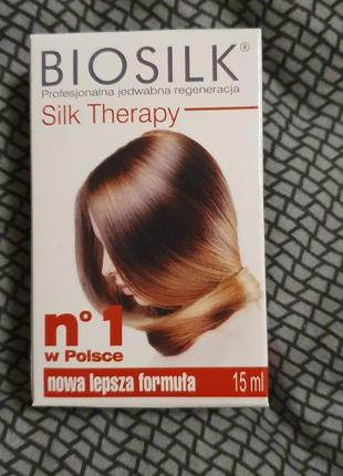 Biosilk для волос,  масло, жидкий шёлк. для гладкости волос