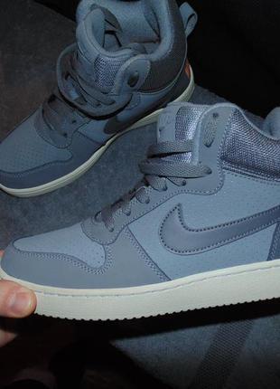 Кроссовки ботинки nike air кожа замша оригинал по сути новые размер 39