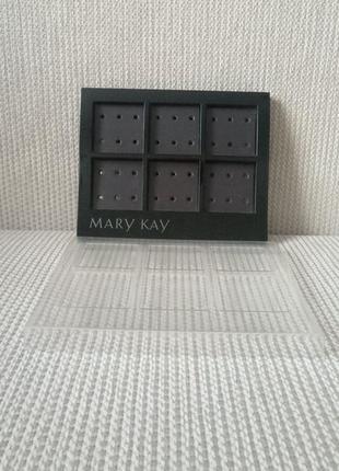Магнитная палетка-органайзер для минеральной декоративной косметики mary kay