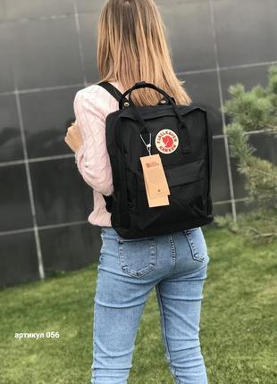 Рюкзак сумка канкен kanken fjallraven classic 16l черный