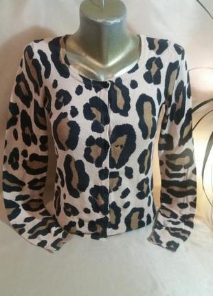 Кофта леопардовая