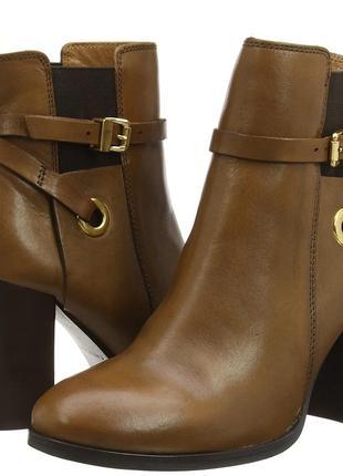 Carvela kurt geiger stacey кожаные ботинки ботильоны