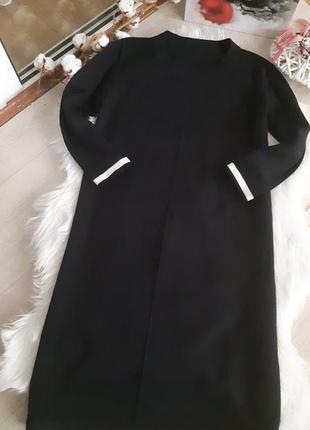 Тёплое шерстяное платье