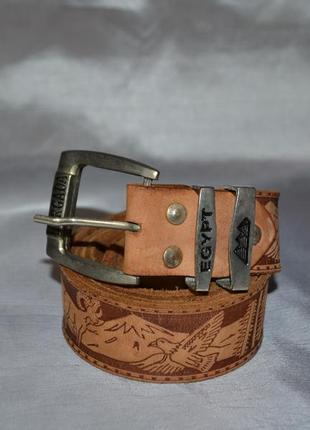 Кожаный ремень ручной работы hurgada