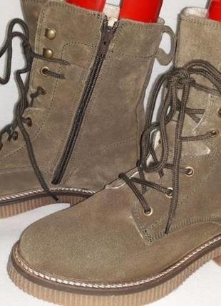 Дуже круті натуральні зимові черевики!