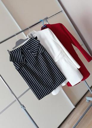 Шикарная юбка футляр карандаш в полоску 1+1=3