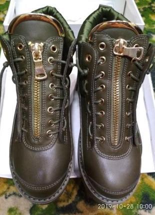 Демисезонные ботинки новые р. 36