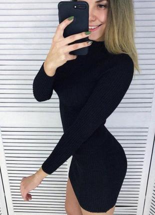 Платье гольф резинка