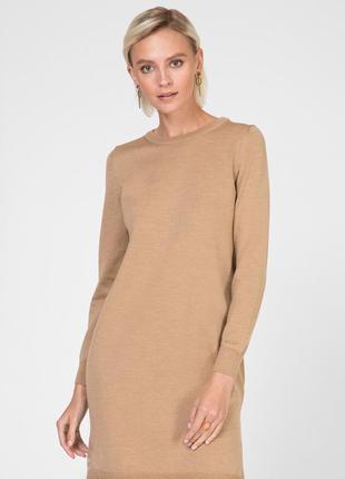 Кашемировое тёплое платье , 36