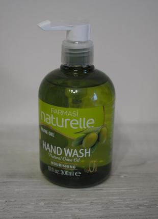 Жидкое мыло farmasi naturelle с маслом оливы, 300 мл, турция