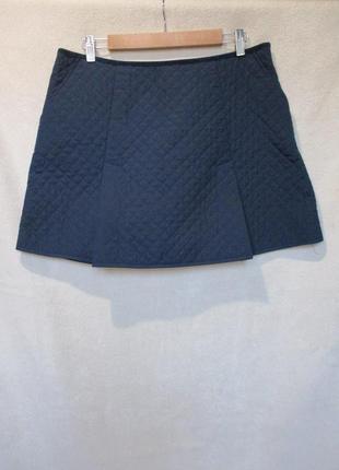 Теплая стеганная юбка