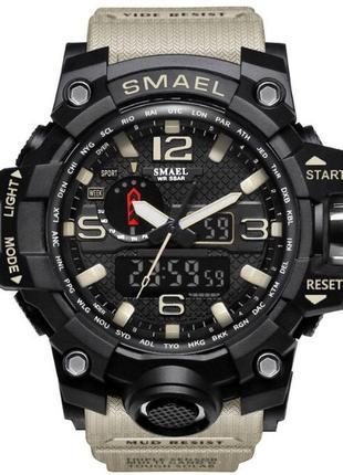 Мужские наручные стильные недорогие электронные часы smael
