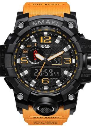 Мужские наручные стильные недорогие популярные часы smael