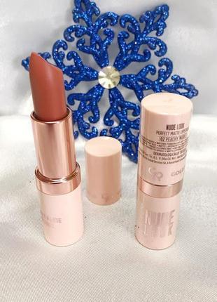 Помада для губ perfect nude look golden rose 02 к.4178
