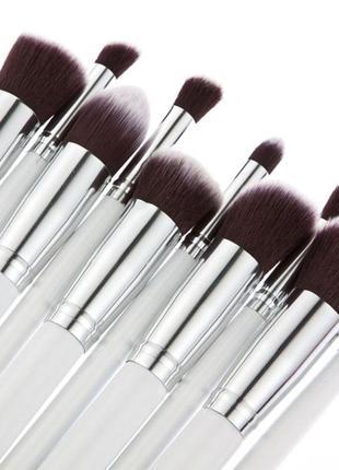 Кисти для макияжа набор 10 шт таклон 15-18 см probeauty