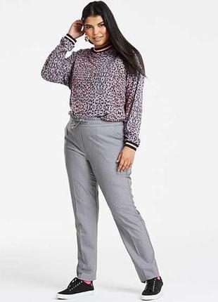 Очень стильные брюки большого размера