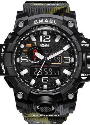 Мужские наручные стильные спортивные военные часы по низкой цене