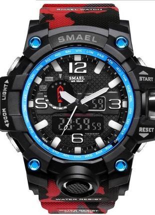 Мужские наручные стильные спортивные часы по smael по низкой цене