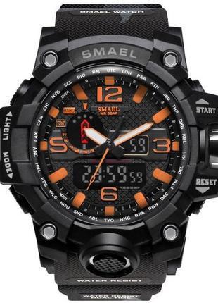 Мужские наручные стильные спортивные военные часы smael по низкой цене