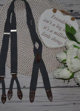 Фирменные мужские подтяжки для брюк джинсов или шортиков шорт на петельках