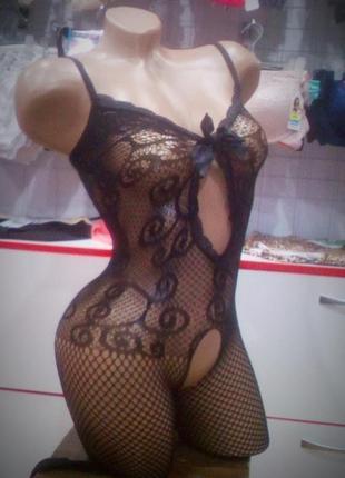 Эротический сексуальный комбинезон🔥 боди сетка sexy белье бодистокинг body stocking 😍