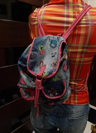 Джинсовый рюкзачок claire's