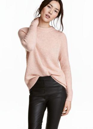 Теплый модный красивый джемпер свитер h&m s