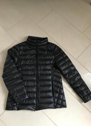 Пуховик женский стильный модный дорогой бренд германии kate storm размер xl или 42