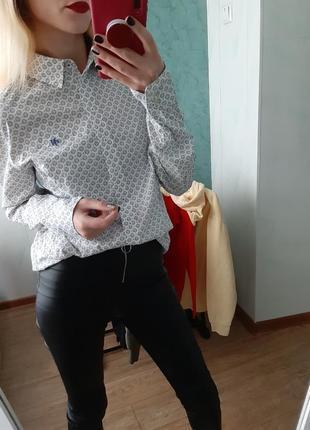 Шикарная хлопковая рубашка оверсайз